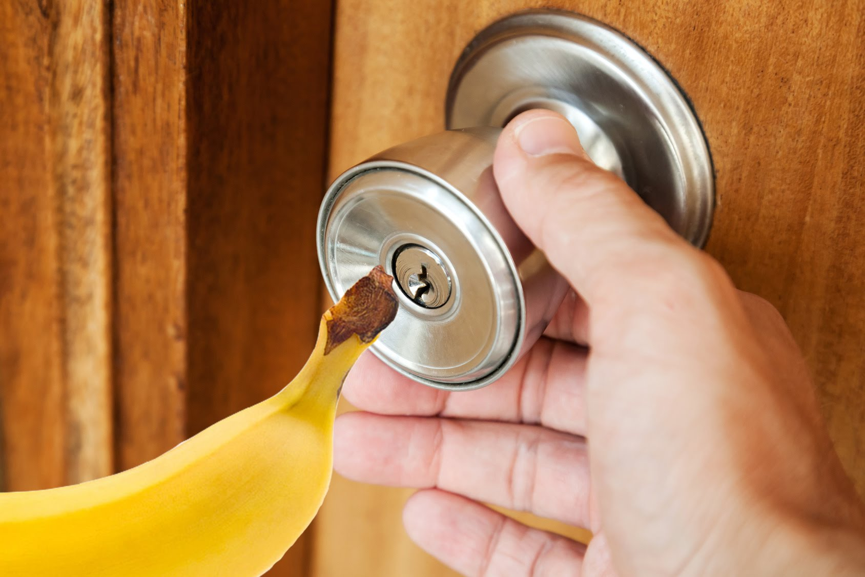 How To Open A Locked Door With A Banana Pepe S How Tos
