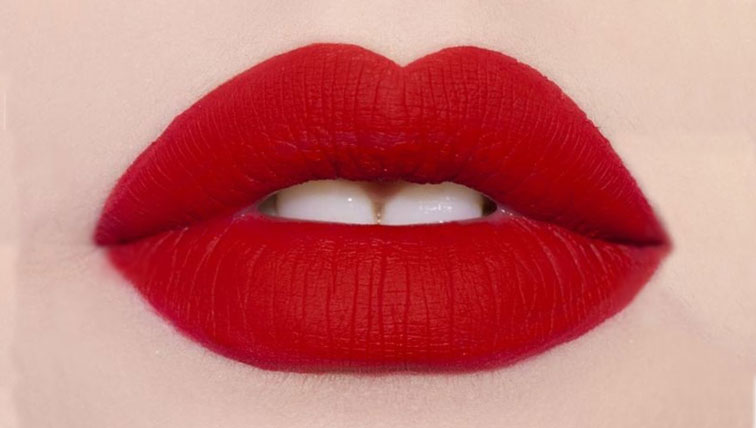How To Make Glossy Lipstick Matte