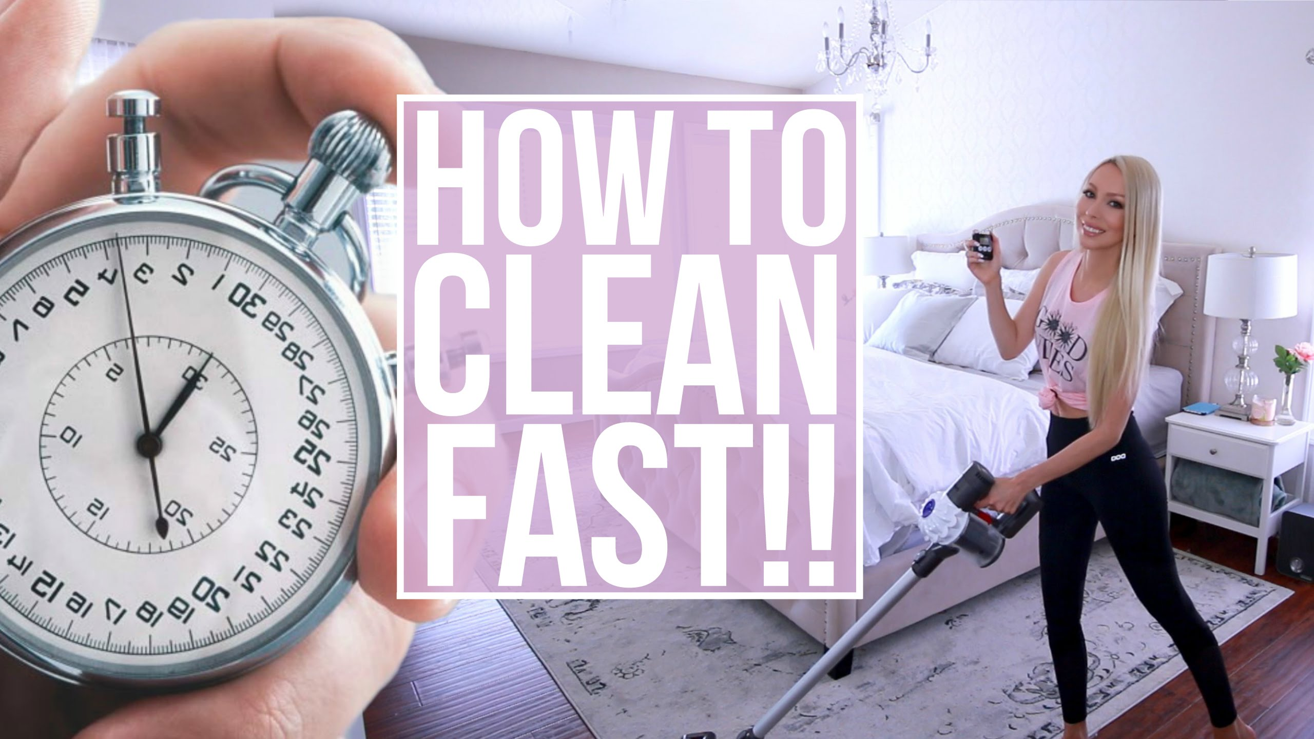 how to do speed cleaning