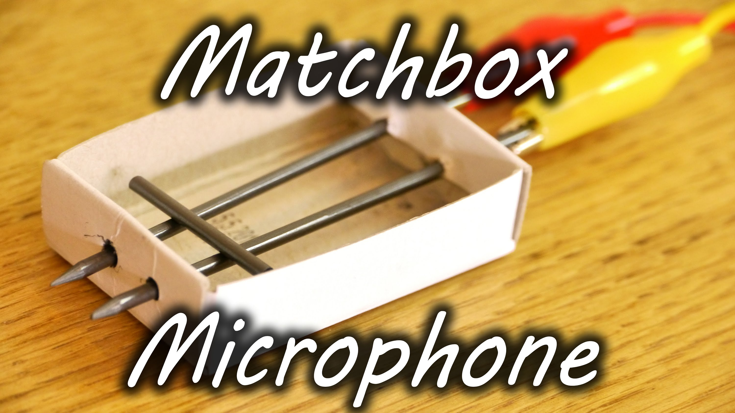 How To Make A Diy Matchbox Microphone