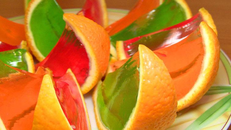 How To Make Fresh Orange Jello