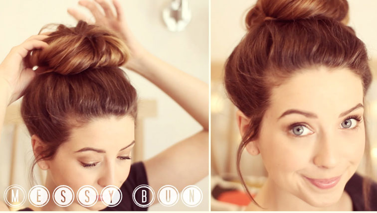 How To Make Stylish Messy Bun