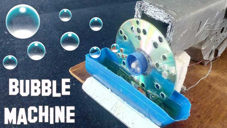 How To Make A Bubble Machine From Junk Materials