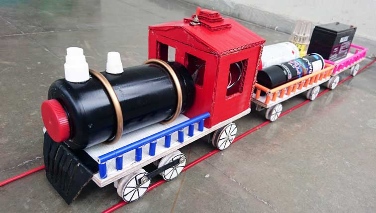 How To Make A Homemade Electric Train