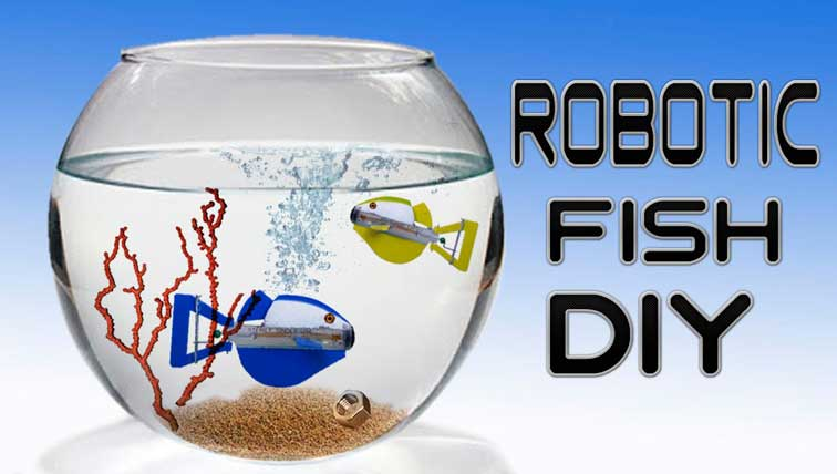 How To Make Batteryless Moving Robotic Fish