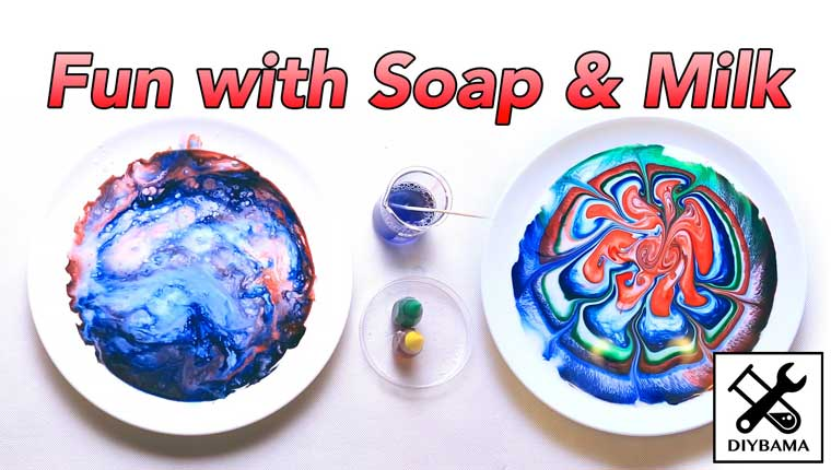 How To Create An Amazing Experiment With Soap And Milk