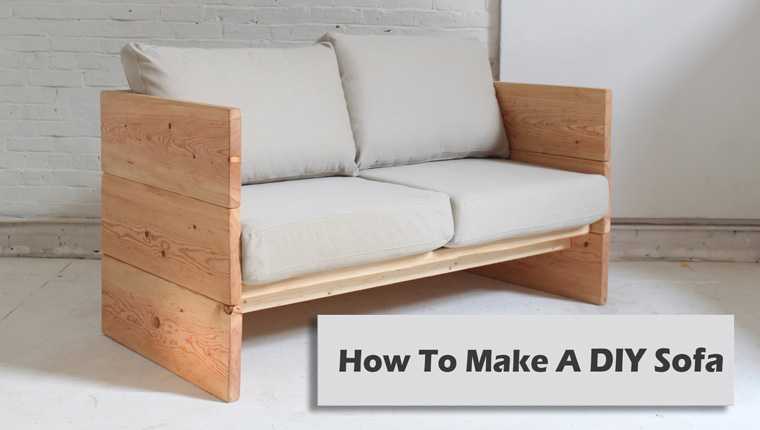 How To Make A DIY Sofa