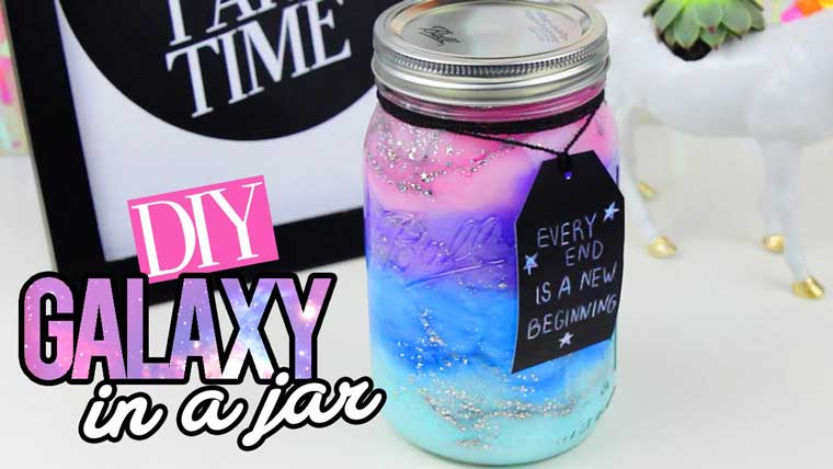 How To Make A Galaxy In A Jar