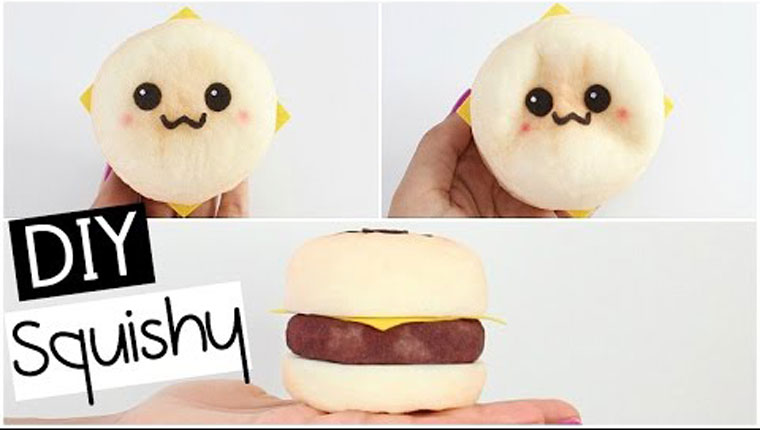 How To Make A Squishy Burger Stress Ball
