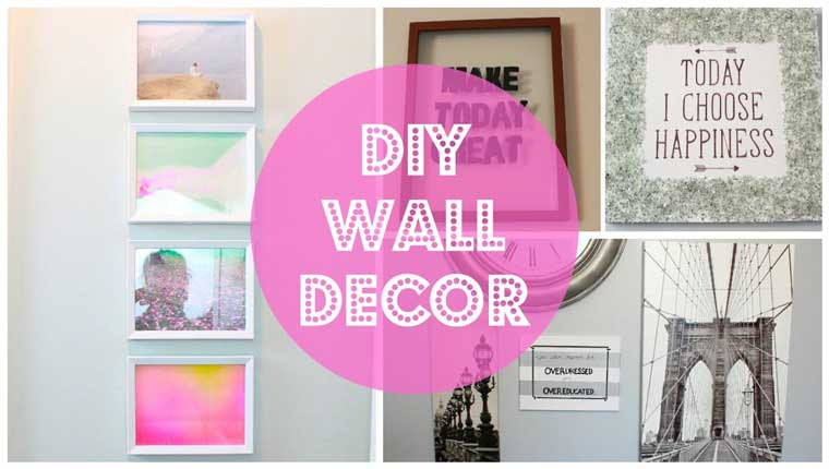 How To Make Easy Wall Decors