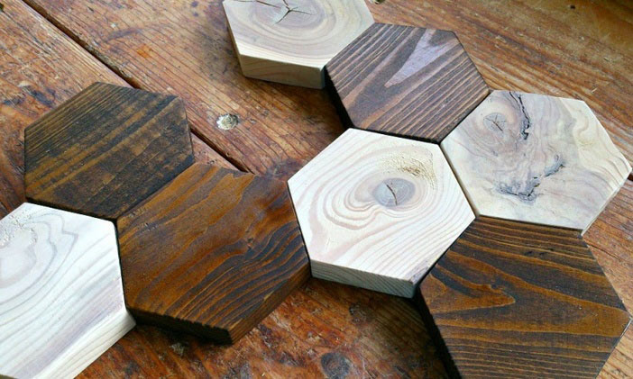 How To Make Magnetic Hexagon Coasters